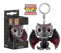 Funko Pop Chaveiro Drogon - Game Of Thrones -