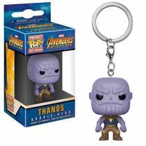 Funko Pop Chaveiro Thanos - Guerra Infinita Marvel Keychain -