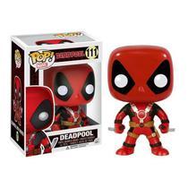 Funko Pop - Deadpool com Duas Espadas número 111 - Marvel -