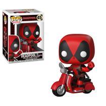 Funko Pop - Deadpool Scooter número 45 - Marvel -