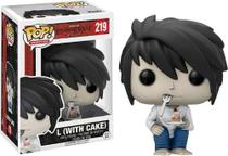 Funko Pop Death Note L With Cake 219