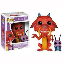 Funko Pop Disney: Mulan - Mushu  Cricket 167
