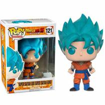 Funko Pop Dragon Ball Super Saiyan God Goku Exclusivo 121