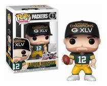Funko Pop! Football Packers: Aaron Rodgers  - SB XLV 43 -