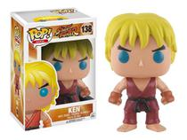 Funko Pop Game Jogo Street Fighter Ken 138 -
