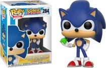 Funko Pop Games: Sonic the Hedgehog - Sonic w/ Emerald 284