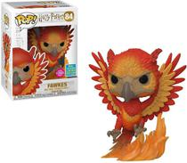 Funko Pop Harry Potter 84 Fawkes Flocked Limited -