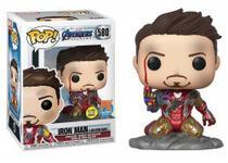 Funko Pop Iron Man(I am Iron Man) PX Exclusive 580 - Avengers Endgame - Vingadores Ultimato - Marvel -