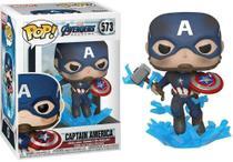 Funko Pop Marvel 573 Captain America w/ Broken Shield & Mjoinir -