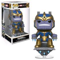 Funko Pop! Marvel Aniversário 10 Anos - Thanos no Trono 331 -