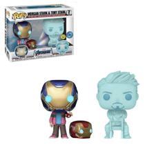 Funko Pop Marvel Avengers 2-Pack Morgan Stark & Tony Stark -