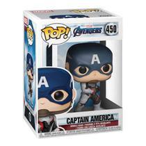 Funko Pop! Marvel: Avengers Endgame - Capitão América -