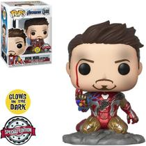 Funko Pop! Marvel: Avengers Endgame - I am Iron Man (Glows in the Dark) 580 -