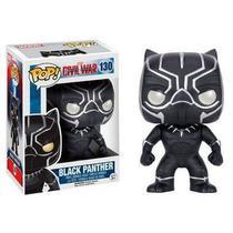Funko pop marvel black panther pantera negra 130 -