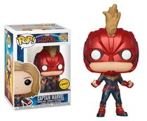 Funko pop marvel capitã captain marvel chase 425 -