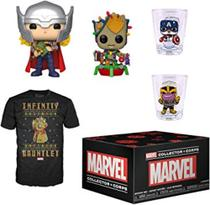 Funko POP Marvel Collector Corps - Marvel Natal -