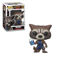 Funko POP Marvel Guardiões da Galáxia - Rocket -