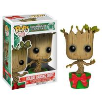 Funko Pop Marvel Holiday Groot Dançante Guardiões 101 -