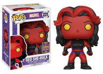 Funko pop marvel red she hulk exclusivo sdcc 231 -