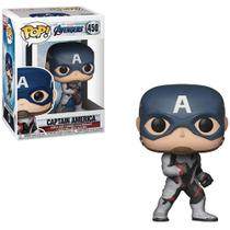 Funko Pop Marvel Vingadores Endgame Capitão América 450 -