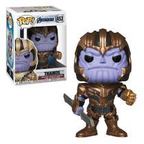 Funko Pop Marvel Vingadores Ultimato Thanos -