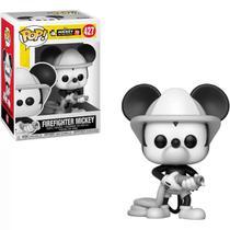 Funko Pop - Mickey Bombeiro - Disney Animation Mickey 90 Anos -
