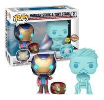 Funko pop morgan stark & tony stark pack 2 marvel avengers endgame -