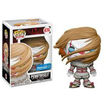 Funko Pop Movies: It (2017) - Pennywise with Wig EX Walmart 474