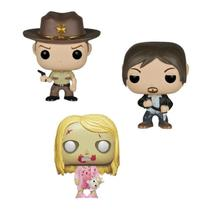 Funko Pop! Pocket TWD Daryl, Rick  Walker