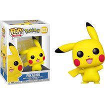 Funko Pop Pokémon Jogo Anime Pikachu Waving 553 -