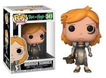 Funko pop rick and morty warrior summer 341 -