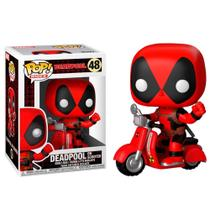 Funko Pop! Rides Deadpool On Scooter Marvel 48 -