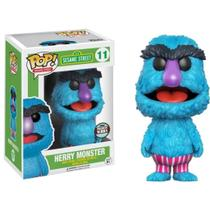 Funko Pop Sesame Street Herry Monster Speciality Series 11 -