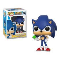 Funko Pop Sonic 284 Sonic With Esmerald -