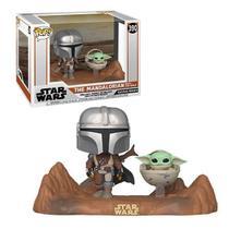 Funko Pop Star Wars 390 The Mandalorian w/ The Child Baby Yoda -