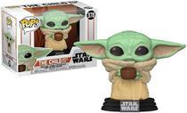 Funko Pop Star Wars Mandalorian 378 The Child w/ Cup Baby Yoda -