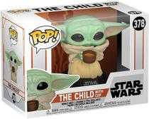 Funko Pop! Star Wars: The Mandalorian - The Child w/ Cup (Baby Yoda) 378 -