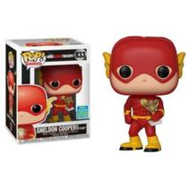 Funko Pop The Big Bang Teory Sheldon as The Flash 833 Exclusive SDCC 2019