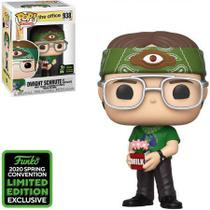 Funko Pop The Office Dwight Schrute As Recyclops ECCC 938 -