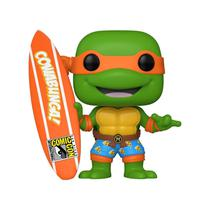 Funko Pop TMNT Michelangelo With Surfboard 1019 Summer Convention Limited Edition -