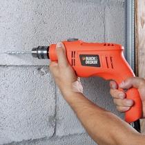 Furadeira de imp.3/8 550w black and decker (tb550)