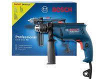 """Furadeira de Impacto Bosch 550W Velocidade - Variável Mandril 1/2"""" GSB 550 RE Pro 14 Acessorios -"""