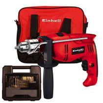 Furadeira de Impacto Einhell TH ID 1000 com Kit 110v -