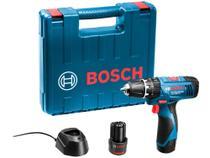 """Furadeira e Parafusadeira de Impacto Bosch - Velocidade Variável Mandril 3/8"""" com Maleta -"""
