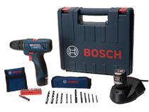 """Furadeira e Parafusadeira Elétrica Bosch 12V - 2 Velocidades Mandril 3/8"""" GSR 120-LI Professional -"""