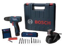 """Furadeira e Parafusadeira Elétrica Bosch 12V - 2 Velocidades Mandril 3/8"""" GSR 120-LI Professional"""
