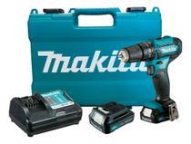 Furadeira Impacto Makita HP333DWYE Maleta 2 Baterias. -