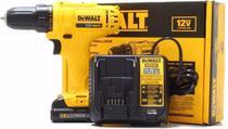 Furadeira Parafusadeira 12v Bateria Biv Dcd700lc1 Dewalt -