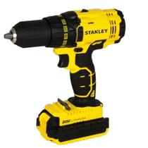 Furadeira Parafusadeira 20v 2 Baterias Litio Stanley Scd20c2k-Bivolt -