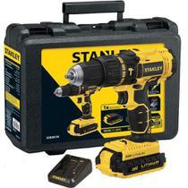"""Furadeira Parafusadeira de impacto 1/2"""" à bateria 20 volts com maleta - SCH20C1K - Stanley -"""